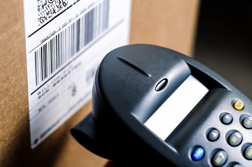 scanning a barcode