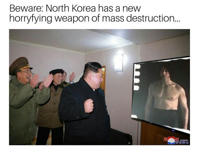north korea kylo ren
